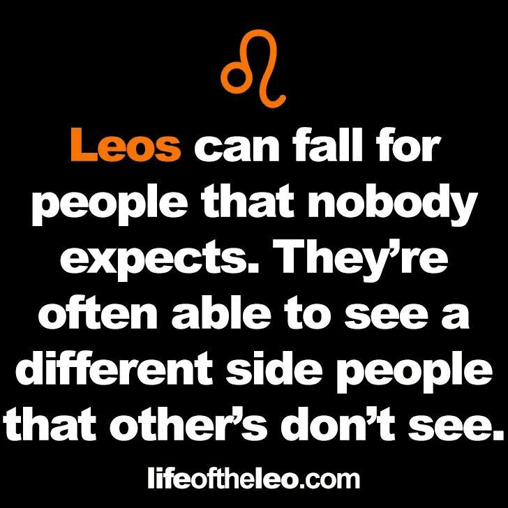 Yes. For a sign that is often thought to be superficial, we can see beyond the exterior☺
