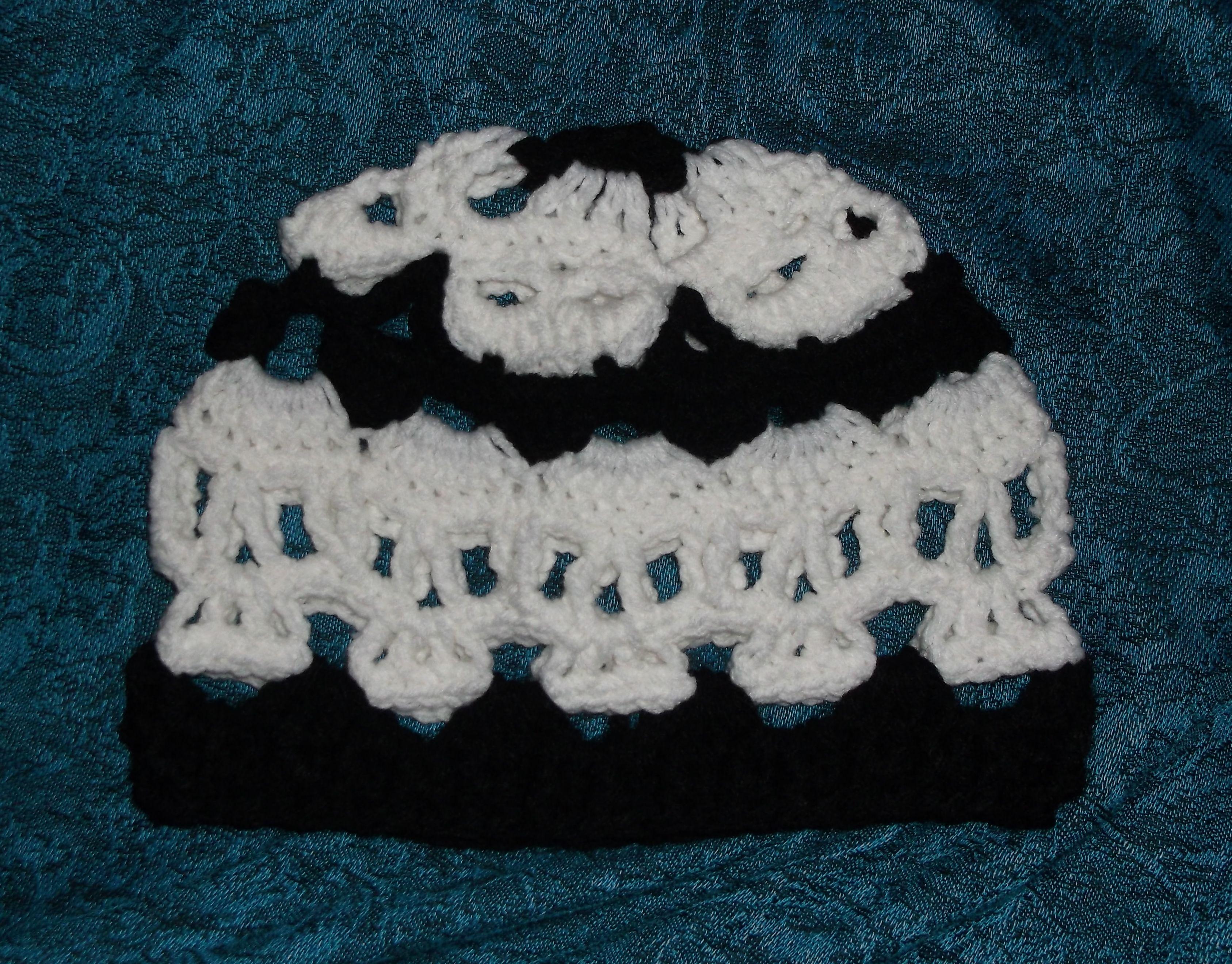 Creepy Skull Crochet Hat | Crochet Hats / Headbands | Pinterest ...