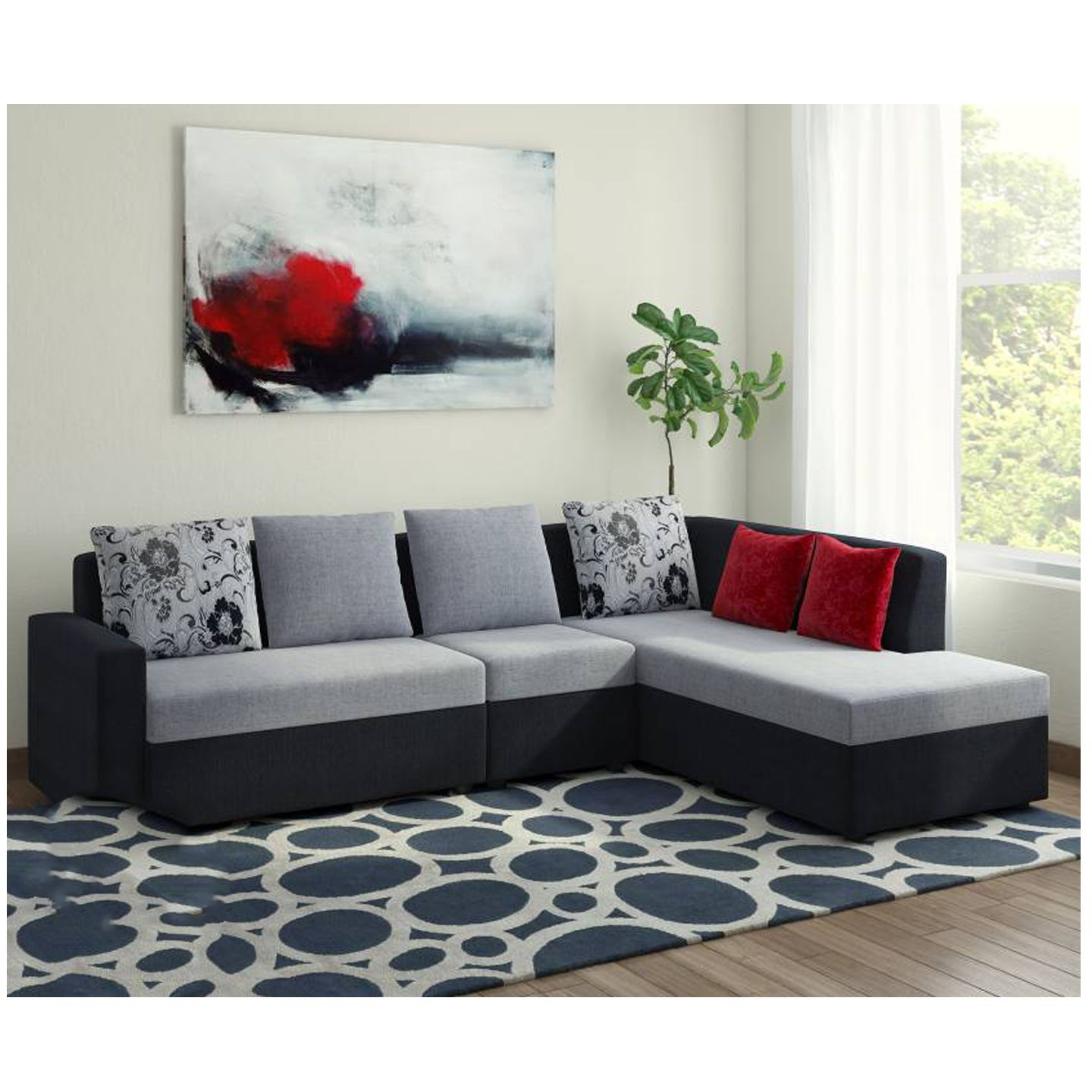 Leather Corner Sofa Tapiceria