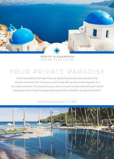 Premium Villa Advertisement Flyer facebook ad Pinterest