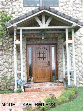Enjoy your home's entryway with a gorgeous custom made mahogany door from ETO Doors.