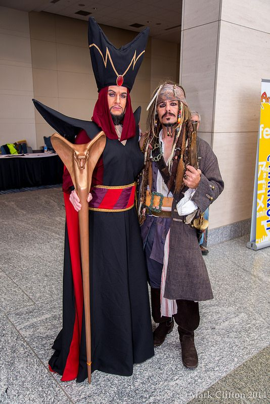 Jafar and Captain Jack Sparrow, Best Buds!