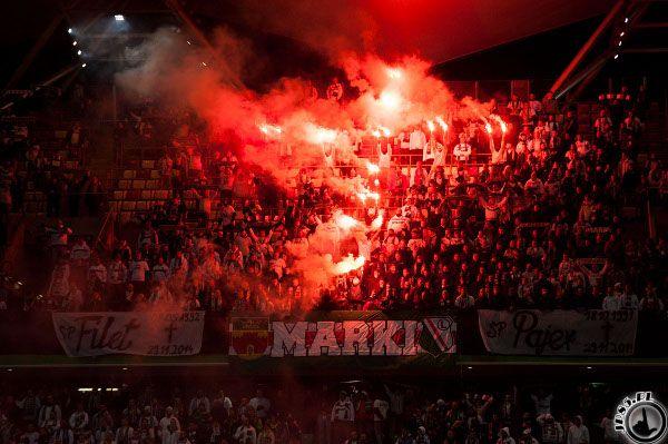 Legia Warszawa vs Cracovia, Poland (01.12.14)
