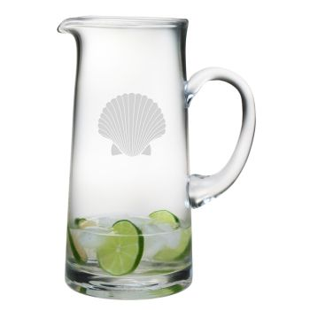 Bring This Beautiful Scallop Shell Designed Pitcher To You Coastal Dining  Table.