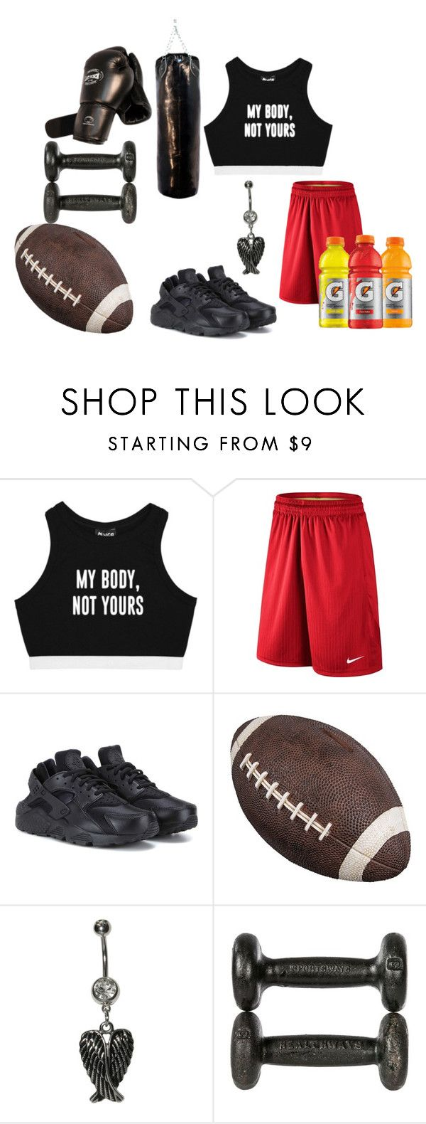 """Untitled #104"" by yours-2ruly on Polyvore featuring Minga, NIKE and Wembley"