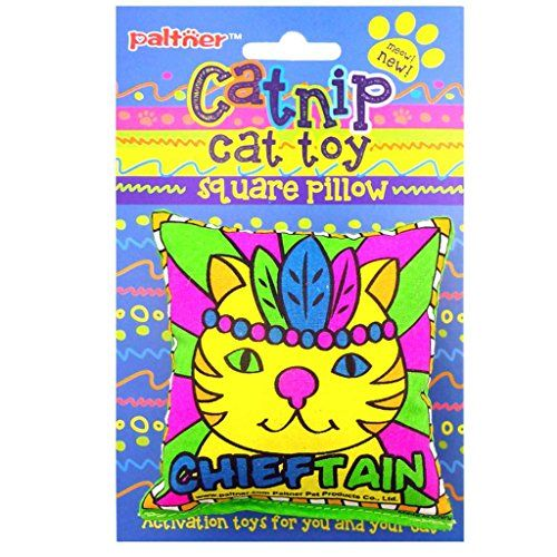 Paltner 2pcs Pillow Shape Catnip Cat Toy Pure and Cute >>> Check out this great product.(This is an Amazon affiliate link)