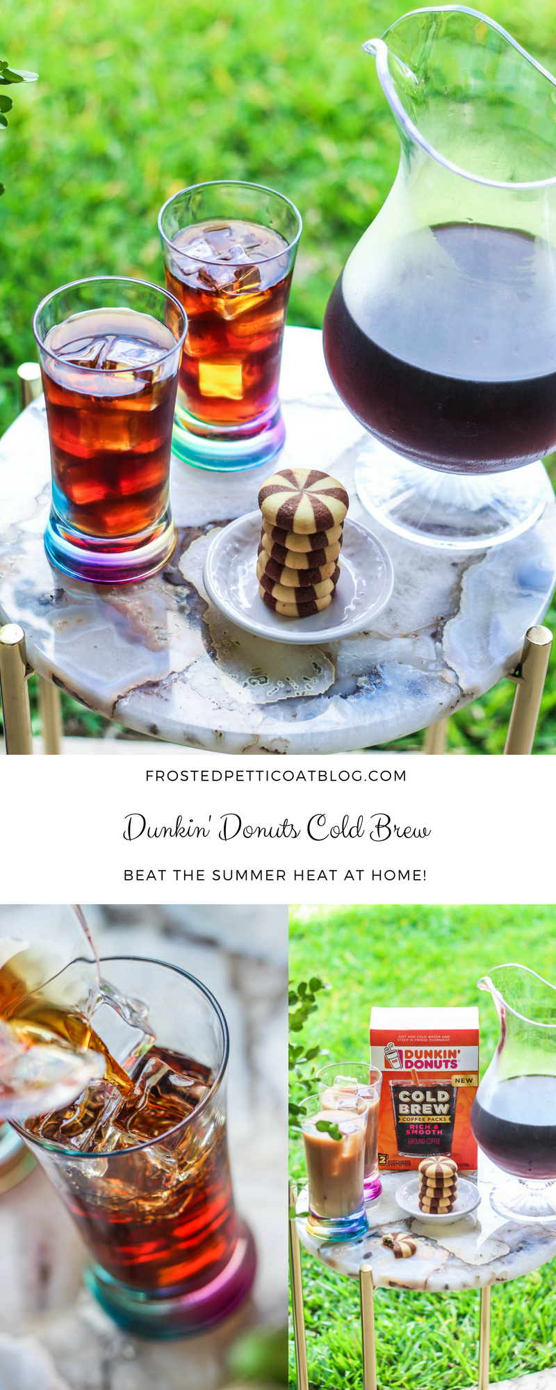 Beat the Heat with Dunkin' Donuts Cold Brew Cold brew