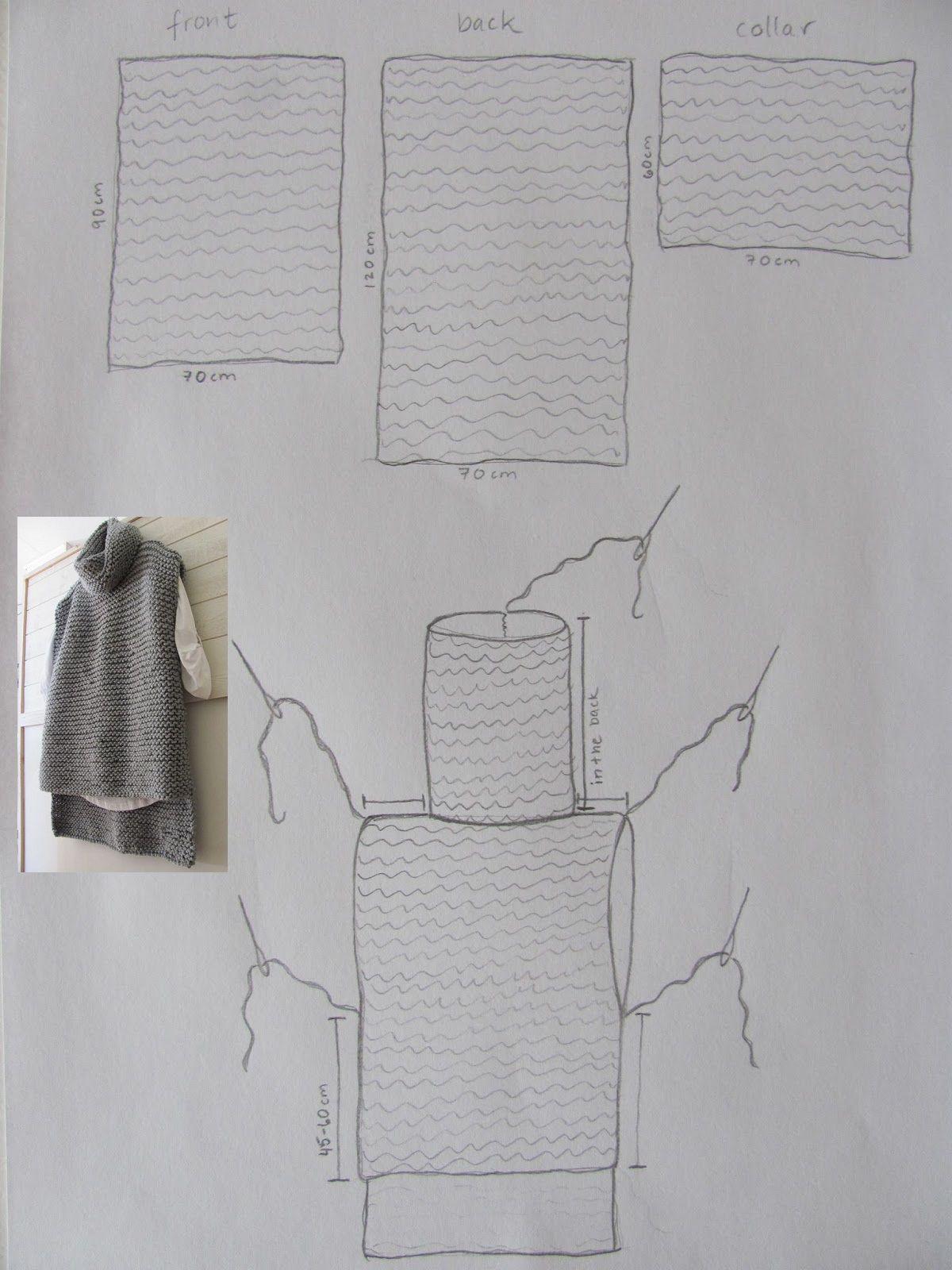 Chaleco crochet | Proyectos que debo intentar | Pinterest | Chaleco ...