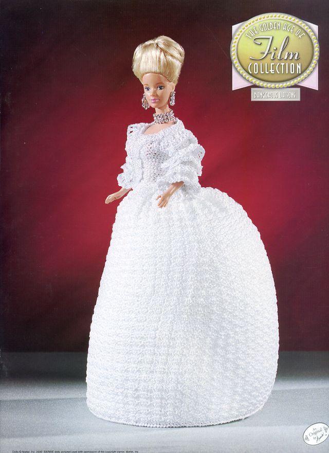 Dangerous Liaisons Doll Outfit Annie\'s Golden Age Film Crochet ...