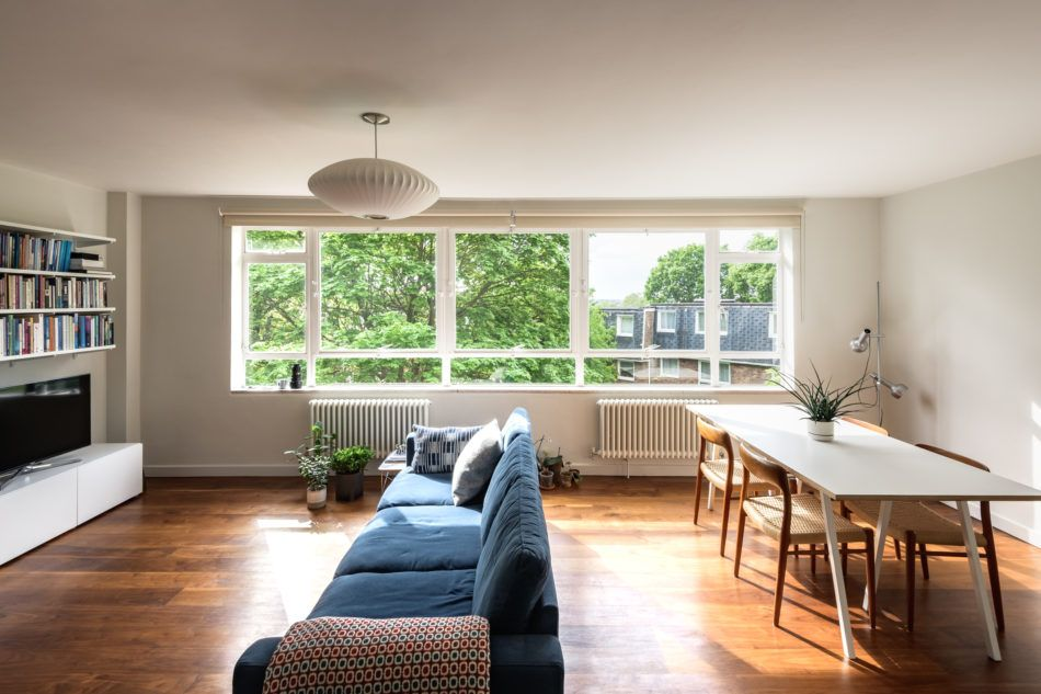 This elegant twobedroom apartment is positioned on the