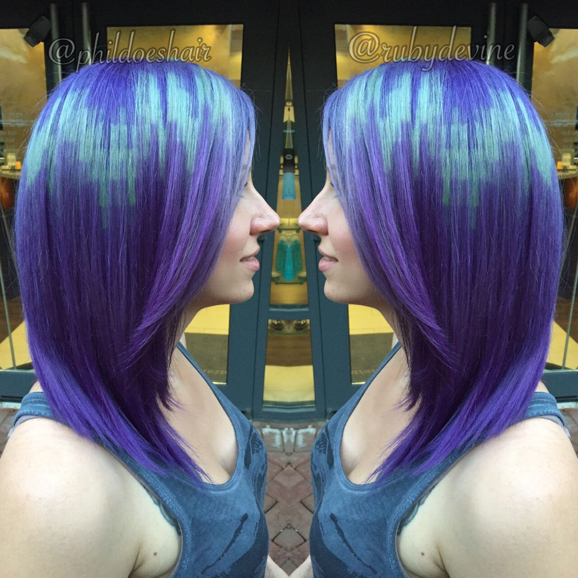It's just a photo of Insane Pixel Hair Coloring