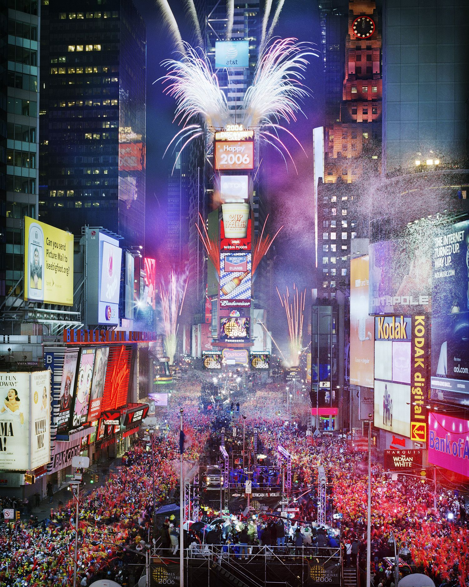 Time Square New Years Eve Live