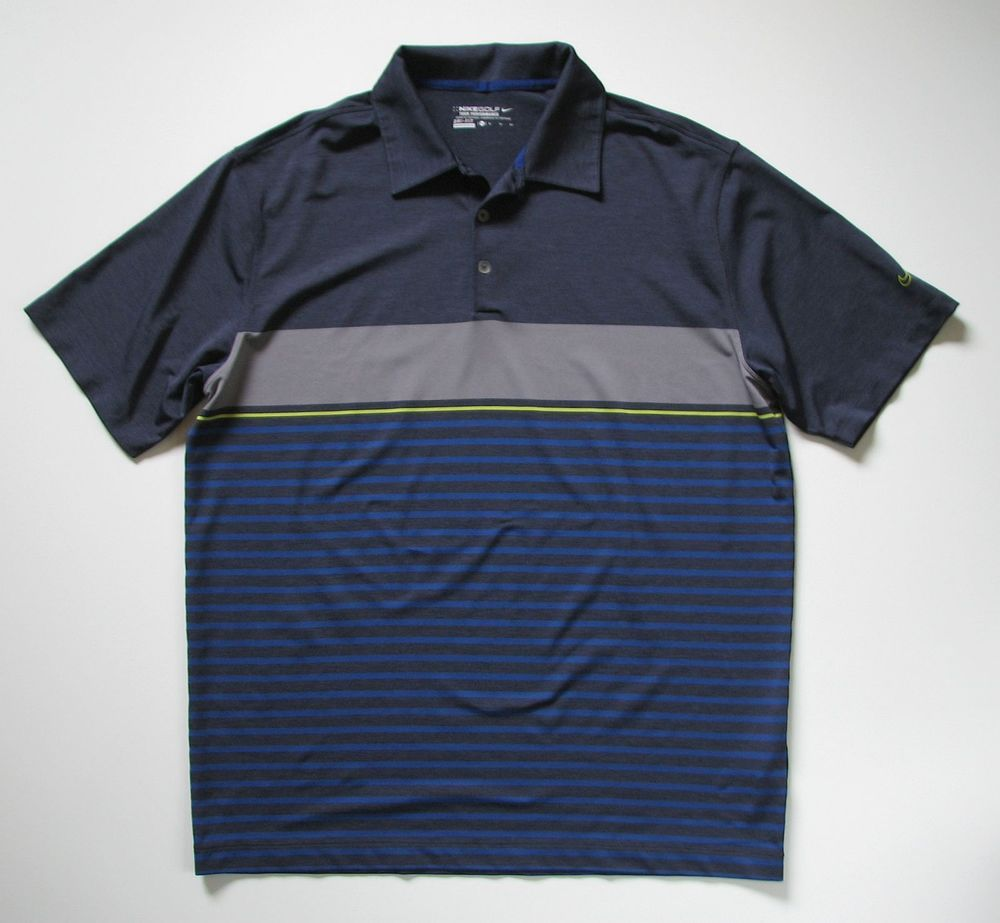 Nike dri fit mens xl tour performance polo golf shirt