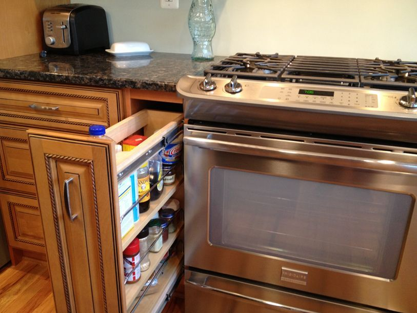 12 inch kitchen cabinet - Google Search | 12 inch counter space ...