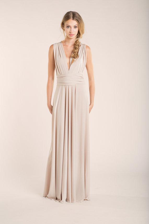 Nude wedding dress, wedding dress, beige dress, nude dress ...