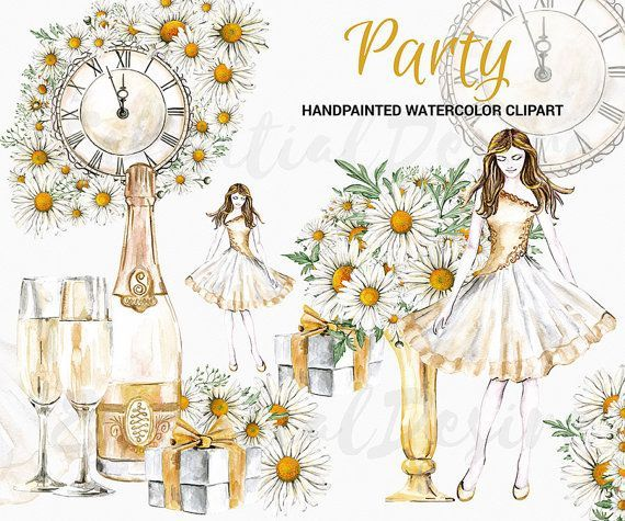 new year clipart winter party happy new year by essentialdesire