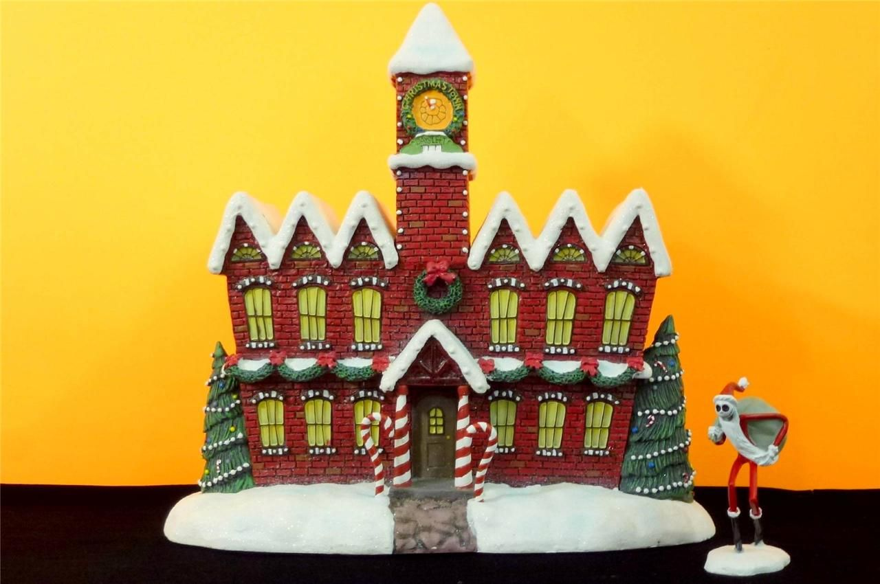Nightmare Before Christmas Town Santa Claus Workshop Hawthorne ...