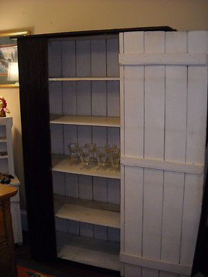 Captivating Large Primitive Jelly Cabinet, Cupboard, Cabinet, Pie Safe, Pantry, Display