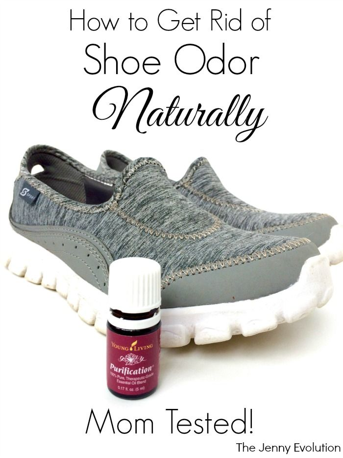 How To Get Rid Of Shoe Odor Naturally