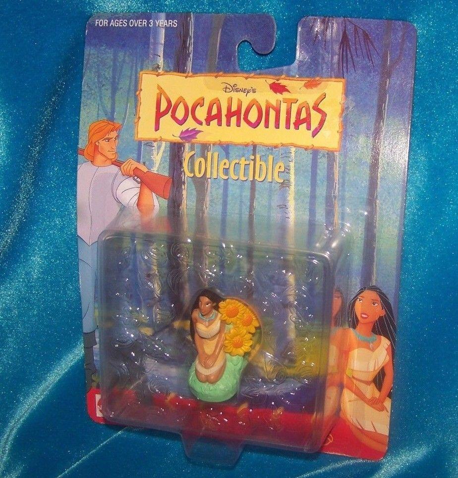 Pocahontas Chief Powhatan By Mattel Native American figurine Cake Topper PVC