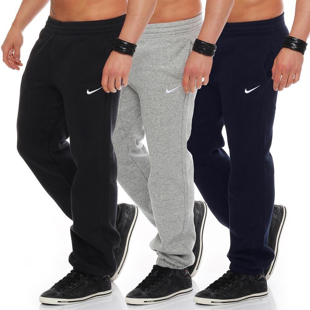 73a35d1c614d30 Nike Swoosh Cuffed Classic Hose Jogginghose Sweathose Trainingshose  Sporthose