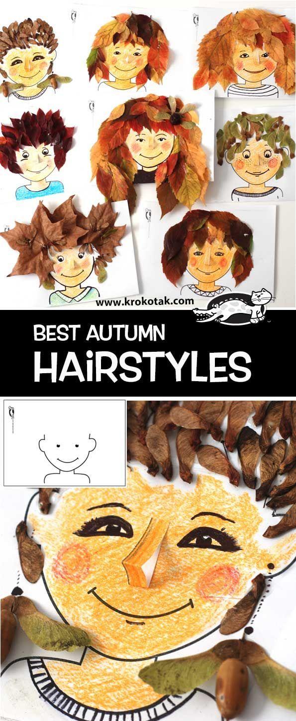 Einfache s sse bastelideen f r den herbst best autumn hairstyles herbst diy basteln mit for Einfache bastelideen herbst