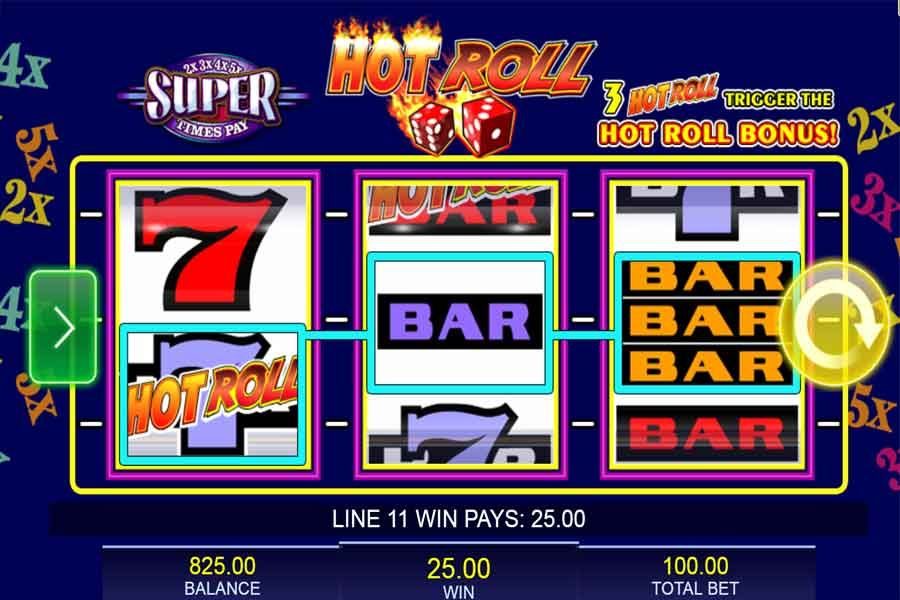 Super Times Pay Hot Roll Slots Play Slots Machine For