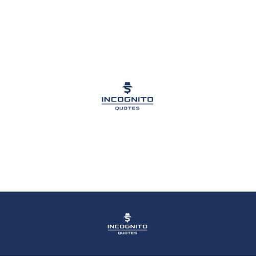 Incognito Quotes Need A Kick A Logo For Business Loans Incognito Quotes Is A Website That Business Logo Design Professional Business Cards Incognito Quote