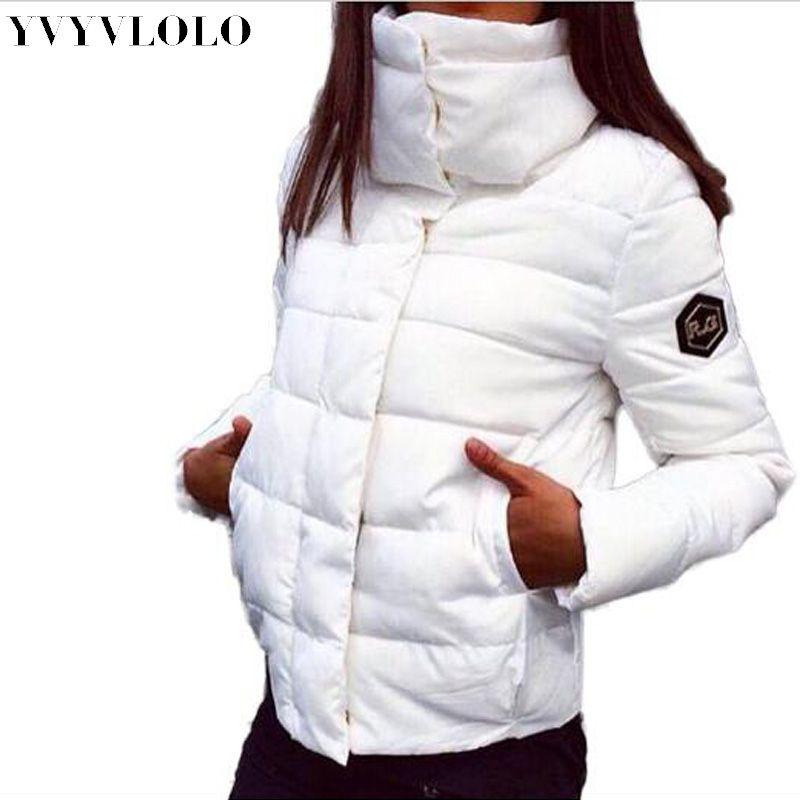 2017 neue Herbst Winter Gacket Frauen Mantel Mode Weibliche Daunenjacke Frauen Parkas Freizeitjacken Inverno Parka Wadded Plus Größe