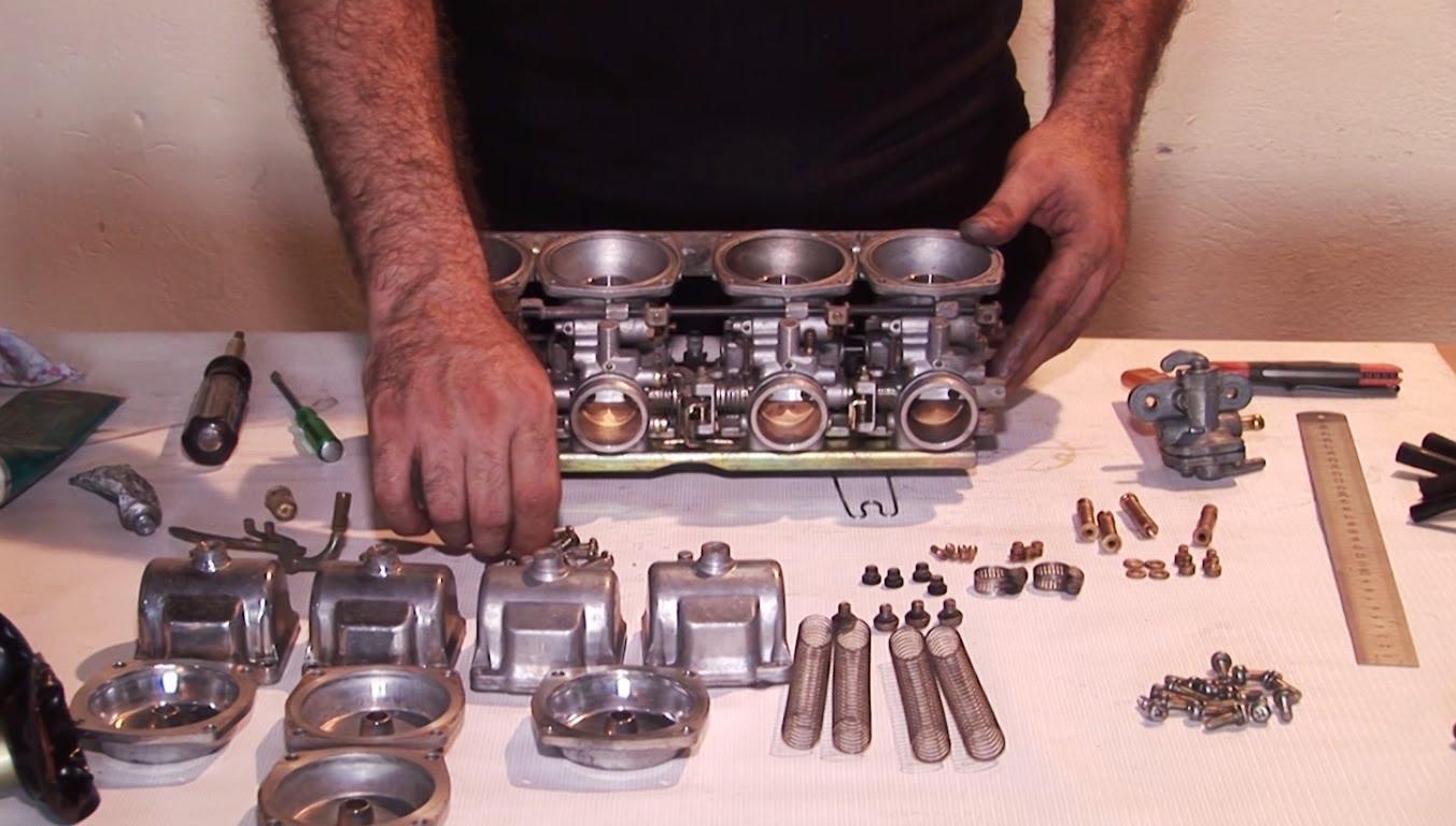 Motorcycle Mikuni Cv Carburetor Cleaning For Suzuki Honda Yamaha Service Manualsonline Tutorial