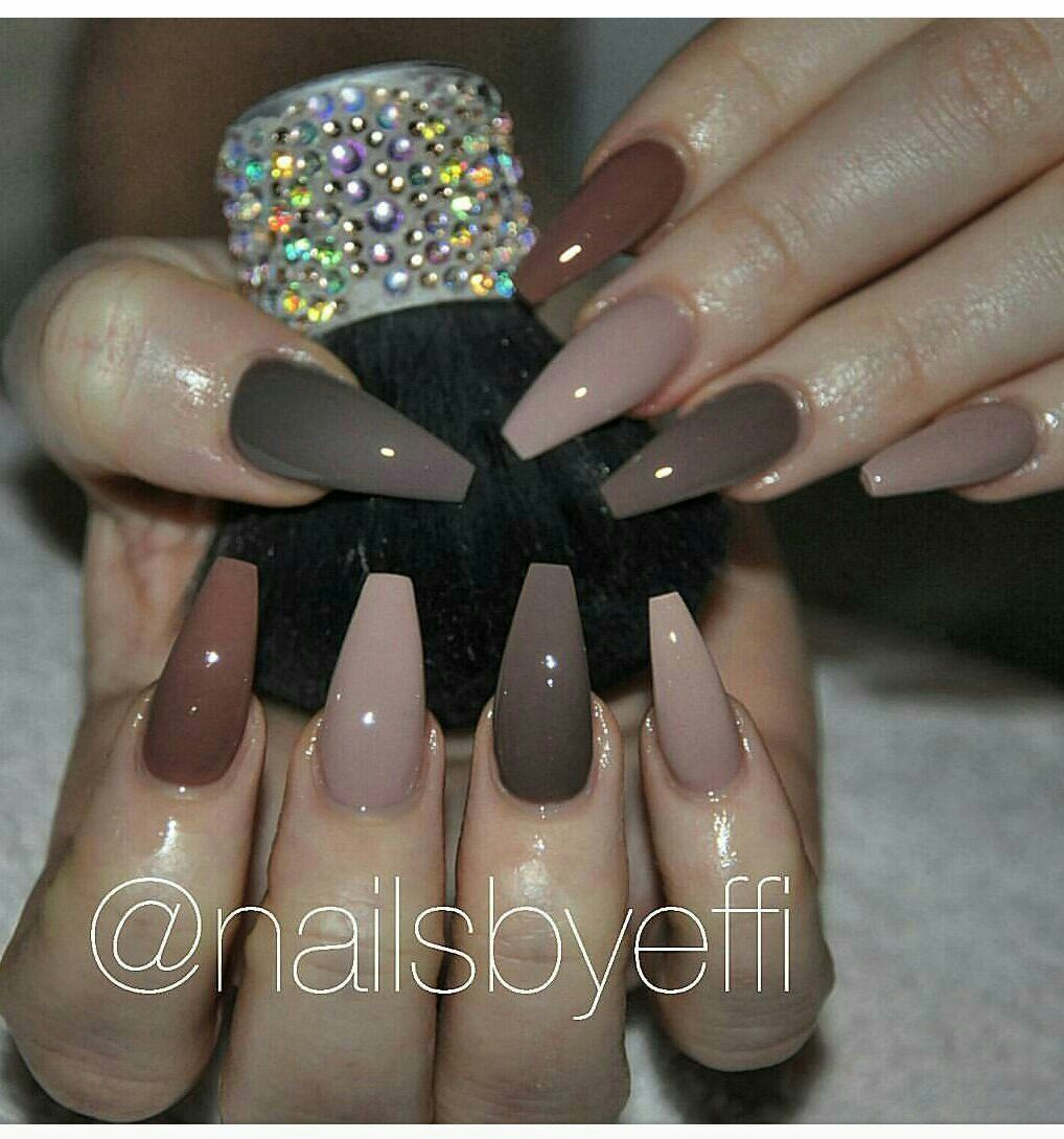 Neutral nails by effi | Mani & pedi\'s | Pinterest | Diseños de uñas ...