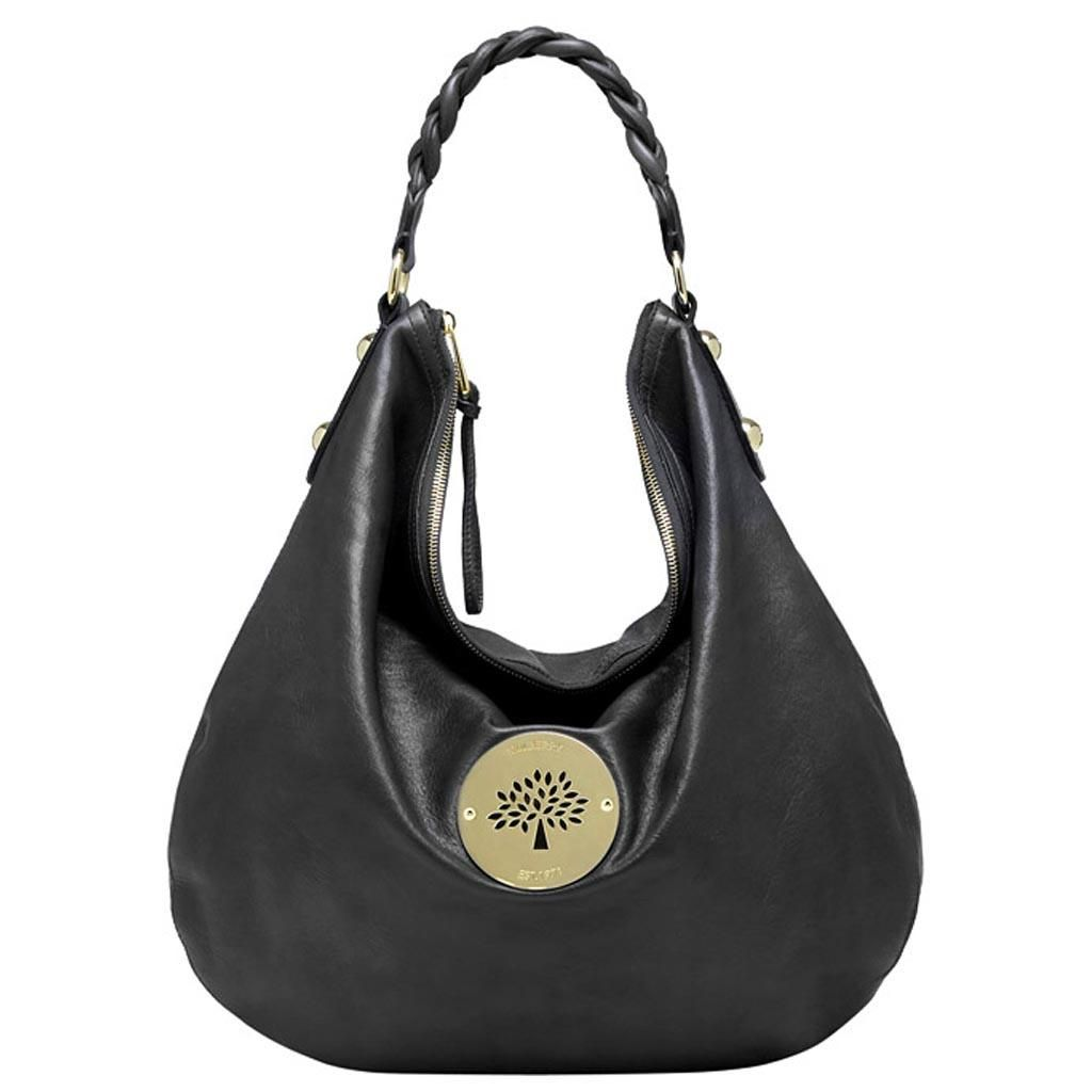 Mulberry Daria Hobo Black Soft Spongy Leather | Mulberry Purse ...