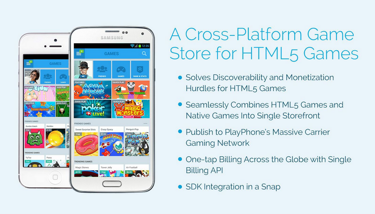 Are you a fan of HTML5 games? Well we have some big news