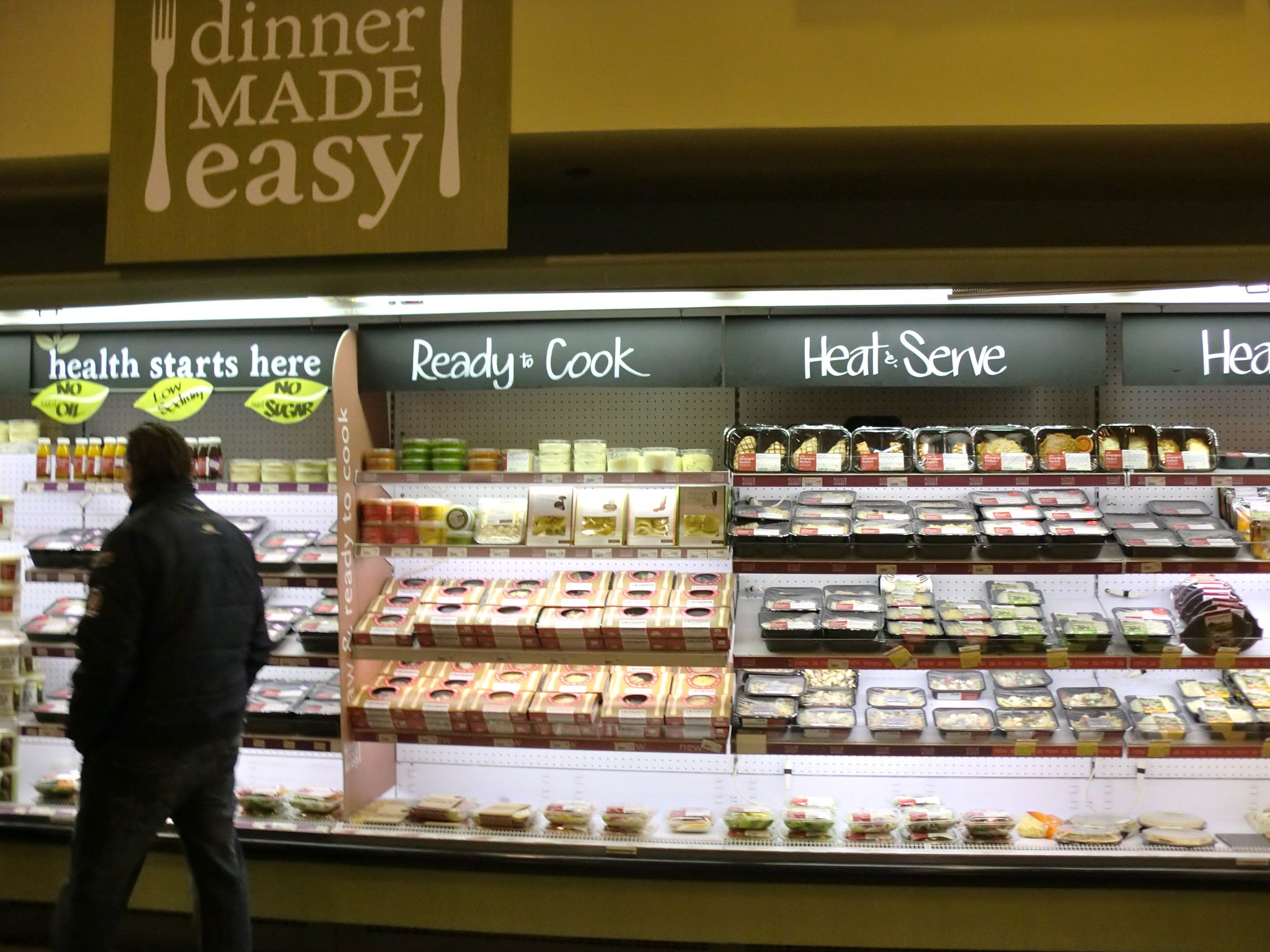whole foods dinner made easy ready to cook heat serve