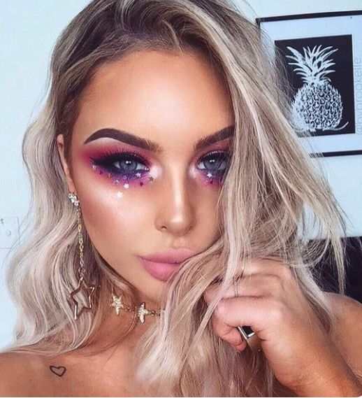 Glitter fairy. Cute idea for halloween makeup | random | pinterest.