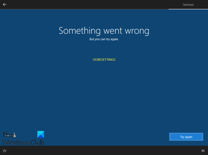 Something Went Wrong Oobesettings Message During Windows 10 Setup Windows 10 Pc Repair Messages