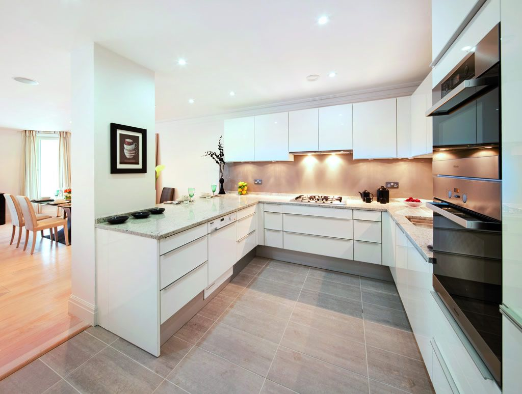 luxury apartment kitchen - Google Search | Open plan kitchens ...