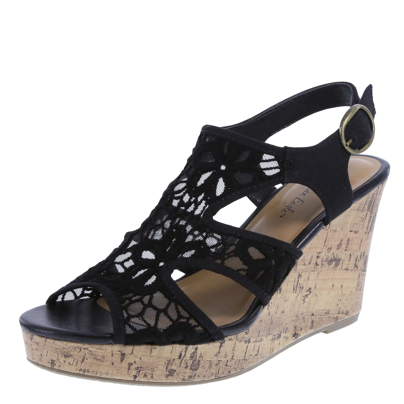 Roller shoes payless - Add A Beautiful Touch To Any Of Your Casual Looks With The Resort Wedge From American