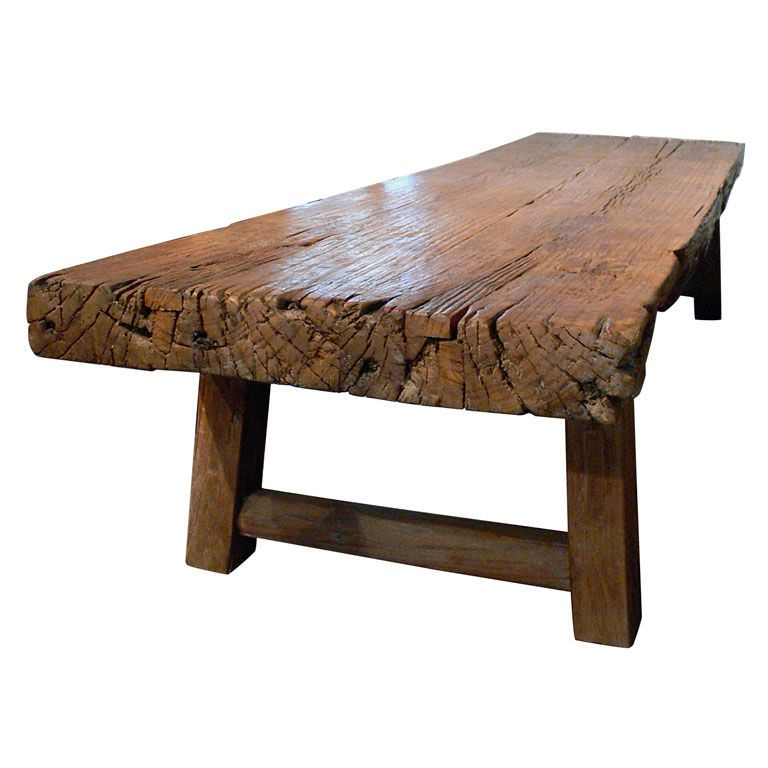 Rustic Coffee Table From A Unique Collection Of Antique And Modern Coffee And Cocktail Tables