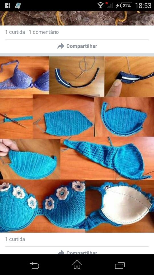For inspiration only. No pattern. | Crocheting & A Little Knitting ...