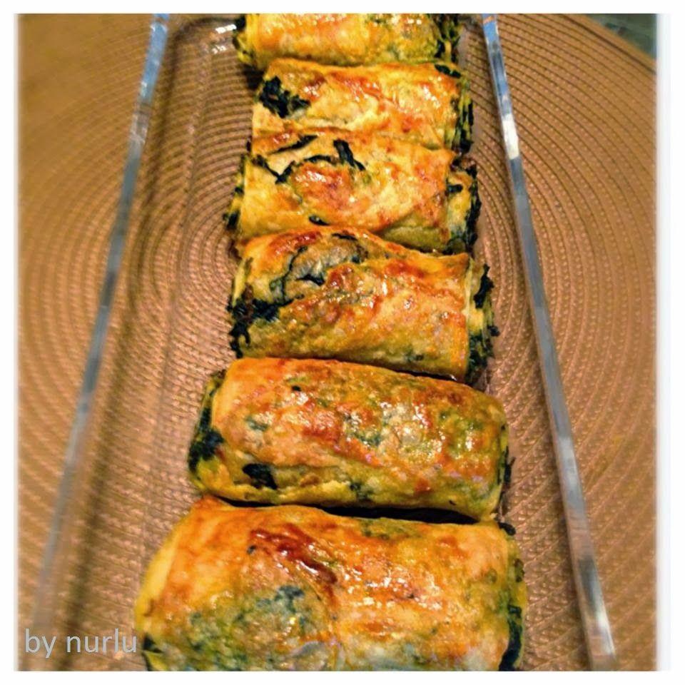El Açması Ispanaklı Kol Böreği Tarifi