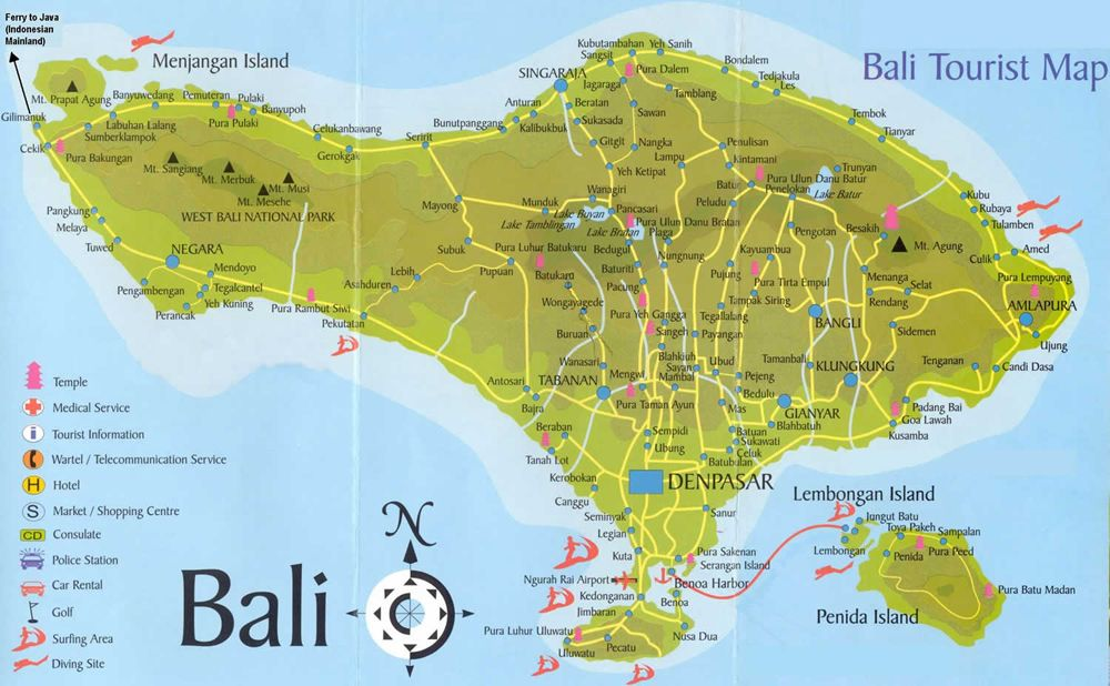 island of bali map sifs Bali Google Maps best places to visit 10 best islands for vacations tourist mapasia travel bali bali google maps