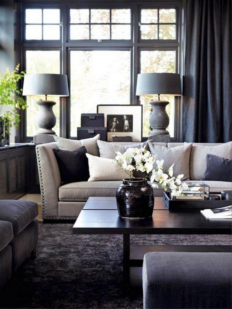 60 Optimum Black And Cream Living Room Design Ideas ...