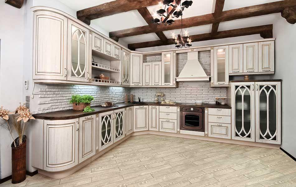 Белая кухня в интерьере (60 фото) | Дизайн кухонь, Кухня ...