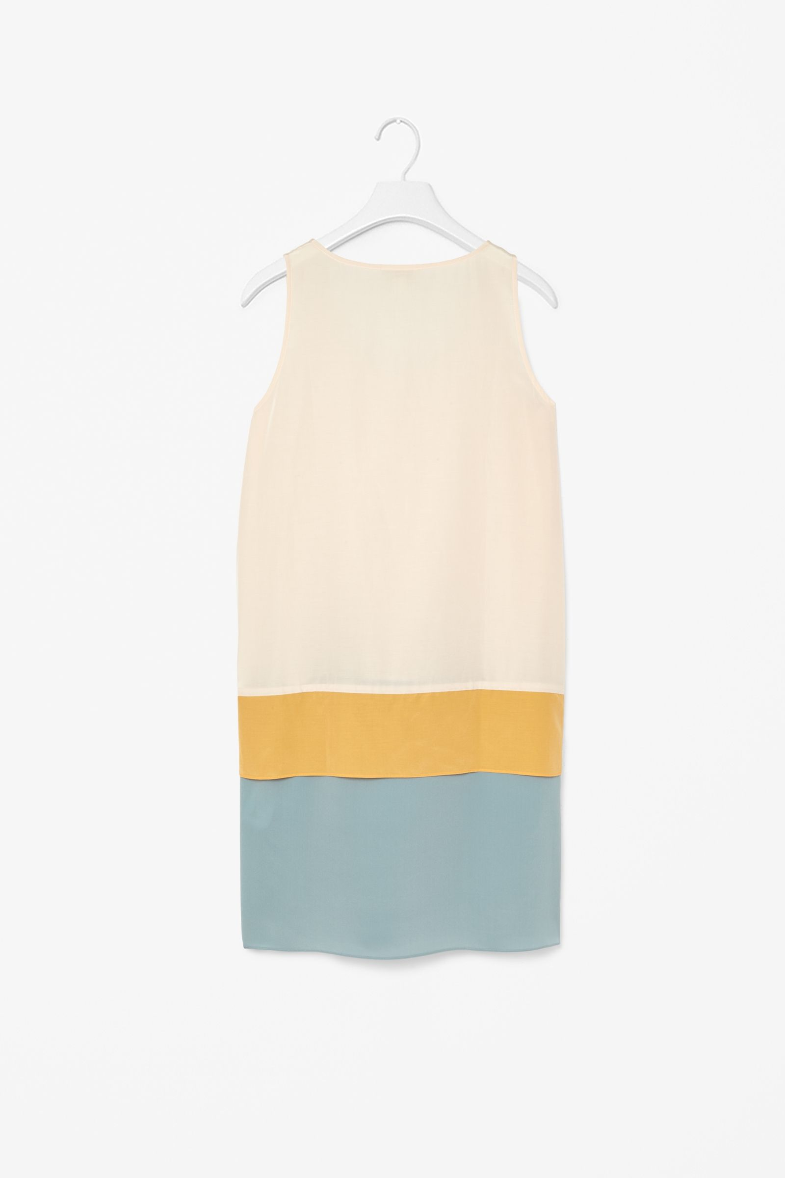 Silk panel dress
