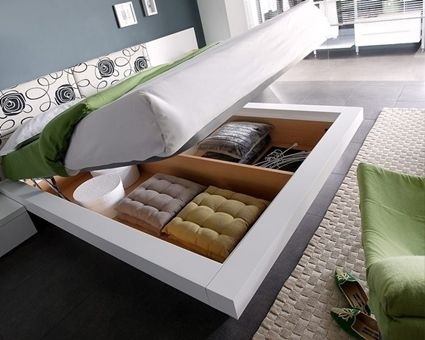 bed, space, creative