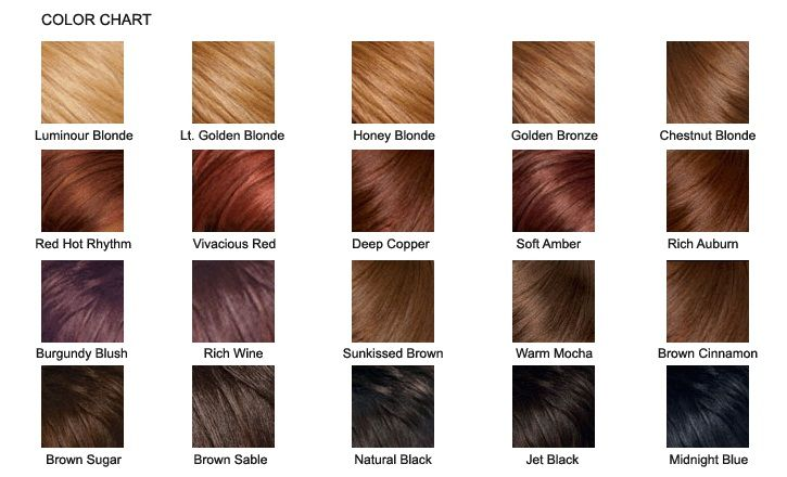 Pravana Semi Permanent Hair Color Chart Hair Color Chart