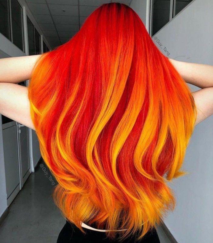 16 Kräftige Haarfarben zum Ausprobieren im Jahr 2019 #frisuren #neuefrisuren #frisurentrends #frisurentrend2018