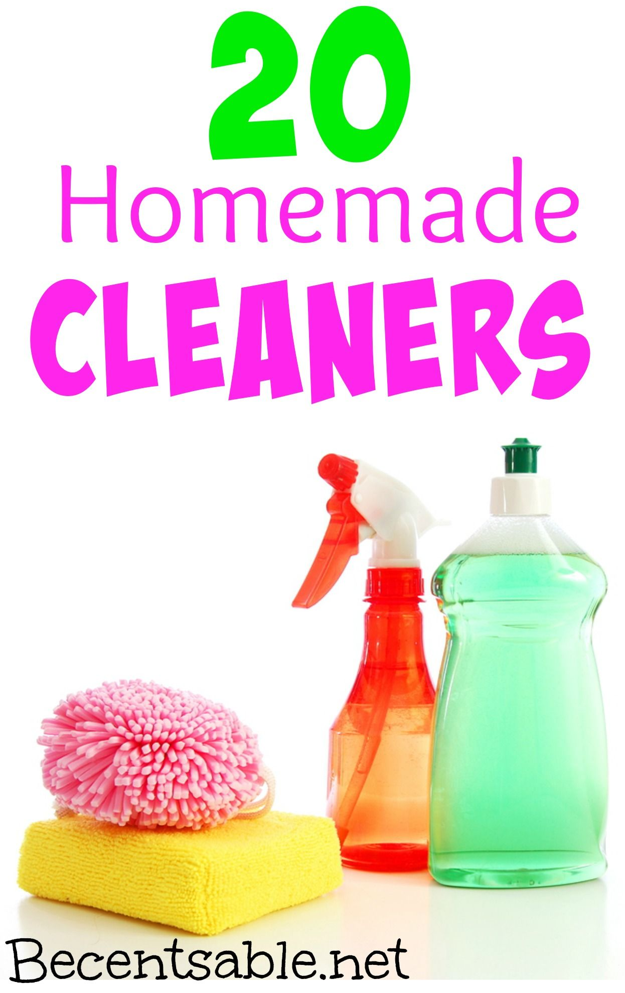 20 homemade cleaners cleaner recipes cleaners homemade