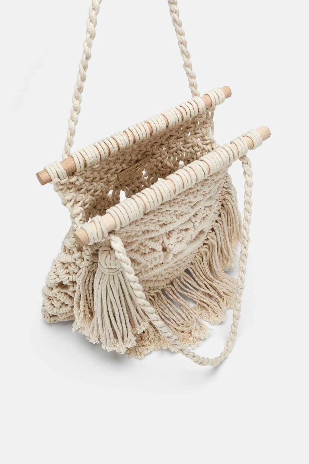 Macrame bag zara photoshoot ideas pinterest macrame bag